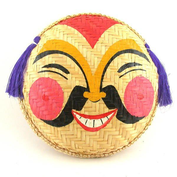 Vietnamese Folk Theater Mask