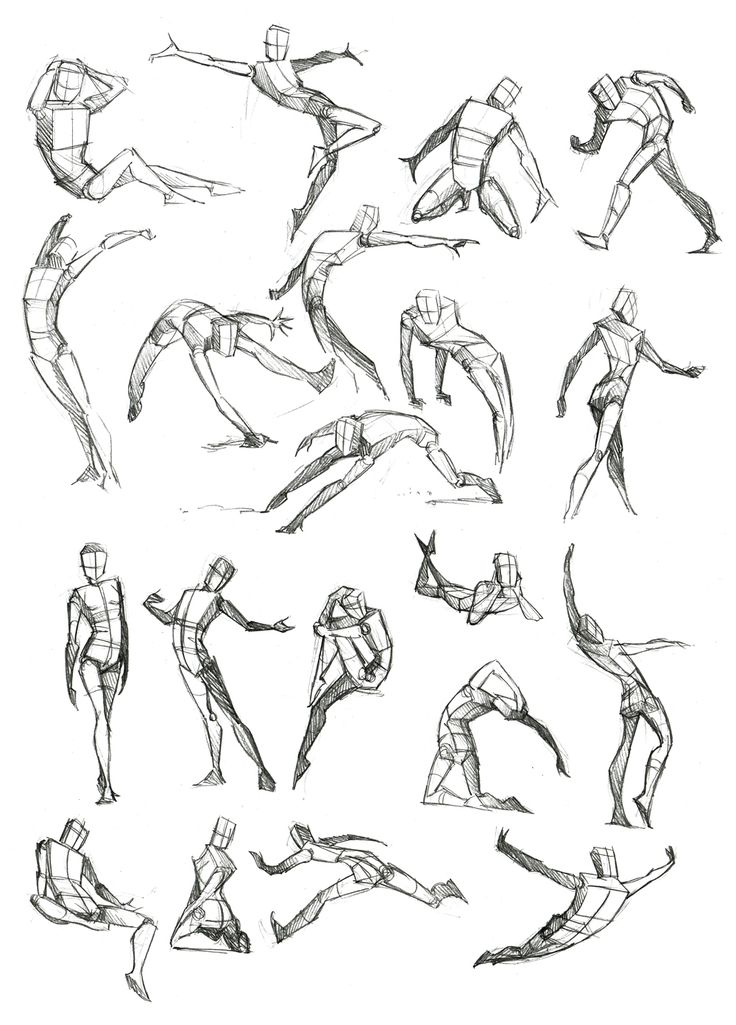 Body Frame Doodles by *Canadian-Rainwater on deviantART
