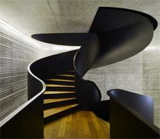 wow!Staircas Design, Offices, Interiors Design, Architecture, Stairs Design, Black, Stairways, Heavens, Spirals Staircas