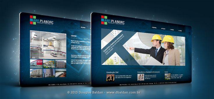 Site Planorc | Douglas Baldan - Online Portfolio | Criar sites, blogs, Templates de Wordpress, Freelancer, layout