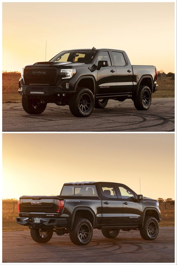 Hennessey Goliath Is A Tuned Gmc Sierra With 700 Hp In 2020