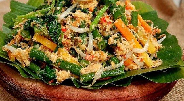Resep Urap Sayur Resep Makanan Resep Masakan Indonesia Resep Masakan