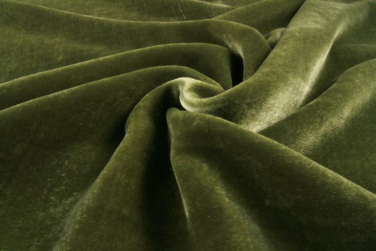 Olive Velvet Silk - online discount fabrics outlet Diana Fabrics store