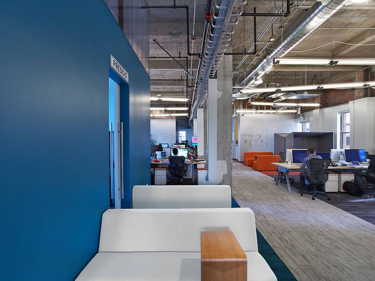 office ceilings. flexible office with high open ceilings offering a multitude of work options beyond the typical
