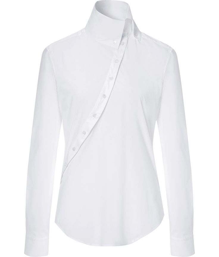MCQ ALEXANDER MCQUEEN: Stretch Cotton Historical Shirt