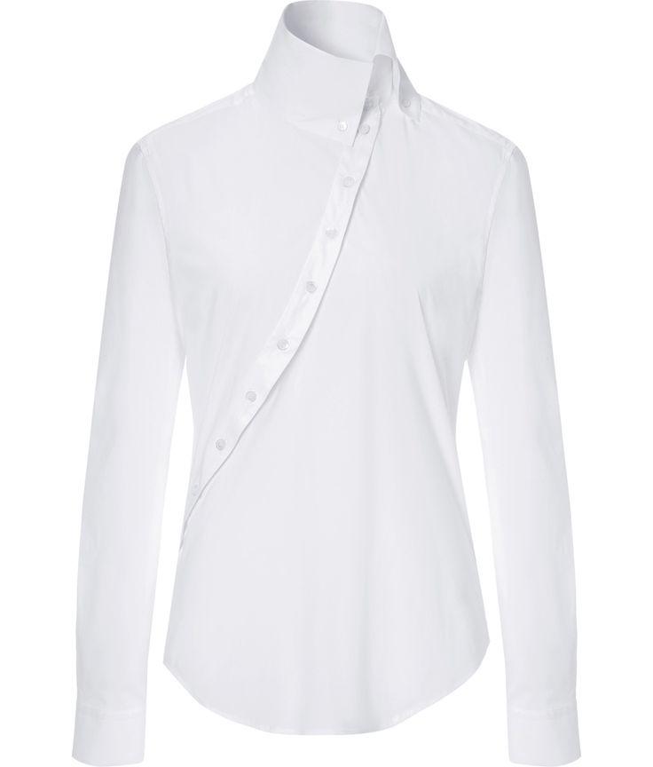 MCQ ALEXANDER MCQUEEN:Stretch Cotton Historical Shirt