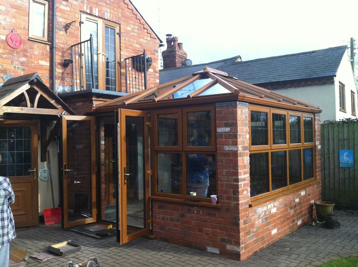 Edwardian Conservatories wood. http://www.finesse-windows.co.uk/conservatories.php