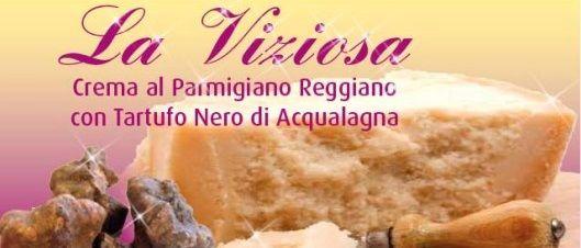 Trasformate i vostri piatti in eccellenze grazie con Viziosa, la deliziosa crema al Parmigiano Reggiano 100% naturale della Bottega del Buongusto