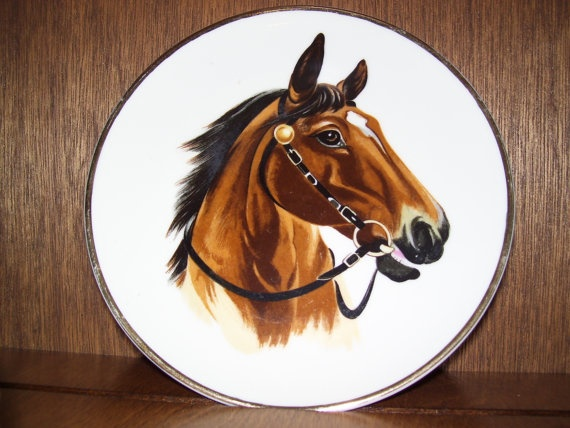 Collectible Horse Art Plate & 35 best collectible plates images on Pinterest | Dinner plates Dish ...