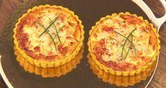 Mini-quiches met curry, prei en zalm - Recept | VTM Koken