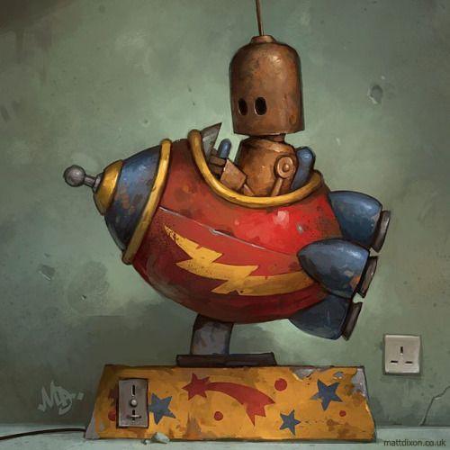 robot art - Cerca con Google                                                                                                                                                                                 Más