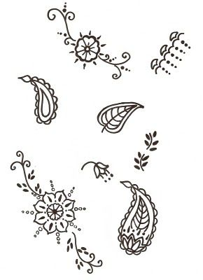 More Small Hennas