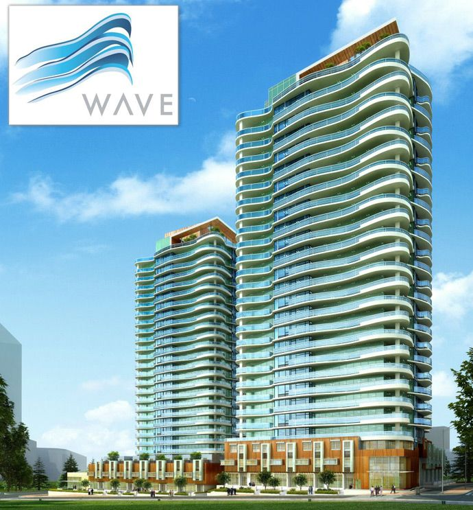 Wave surrey condo towers in greater vancouver curved for Modern condo building design