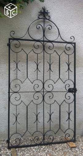 147 best Portail fer forgé images on Pinterest Driveway gate - portail de maison en fer