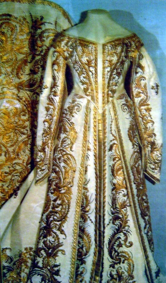 Court dress of Empress Alexandra Feodrovna