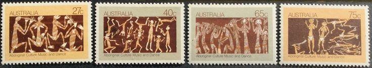 1982 Aboriginal Culture in Music & Dance 27c 40c 65c 75c Set of 4 MUH in Stamps, Australia, By Type   eBay!