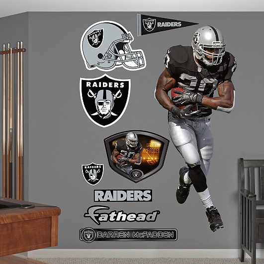 Save 25% on all NFL and college Fathead products at Fathead.com! Use Promo Code FB25