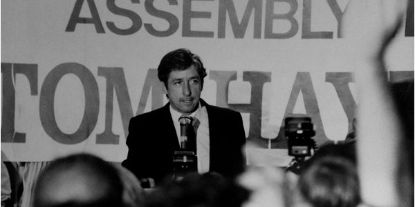 """Tom Hayden Passed Away - http://anythingla.com/tom-hayden-passed-away/ - [caption id=""""attachment_8403"""" align=""""aligncenter"""" width=""""600""""] Photo courtesy of TomHayden.com[/caption] Tom Hayden, legendary activist, later a politician and ex-husband of Jane Fonda has died at 76. Hayden established himself as a political activist in 1960s. Activist at heart, he stood for what's right from civil rights, peace, social justice and environmental protection to the fight for clear lab"""