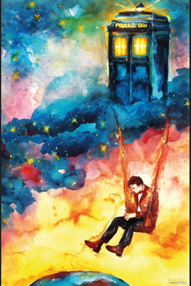 One of my favorites. This was featured on the preshow of the 50th doctor who anniversary