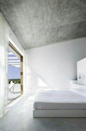 Villa beton licht