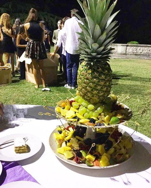 Trionfo di frutta - frutta, ananas, fruits, party, festa