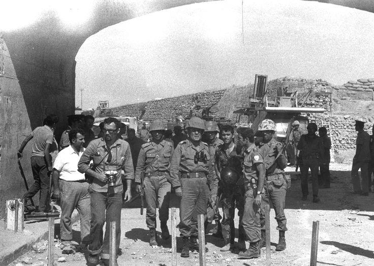 28'inci Tümen Komutanı Tümgeneral Osman Fazıl Polat'ın Magosa'da Karşılanması 164