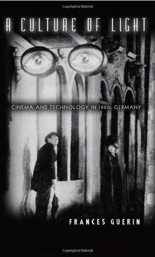 A culture of light : cinema and technology in 1920s Germany, 2005  http://absysnetweb.bbtk.ull.es/cgi-bin/abnetopac01?TITN=566098