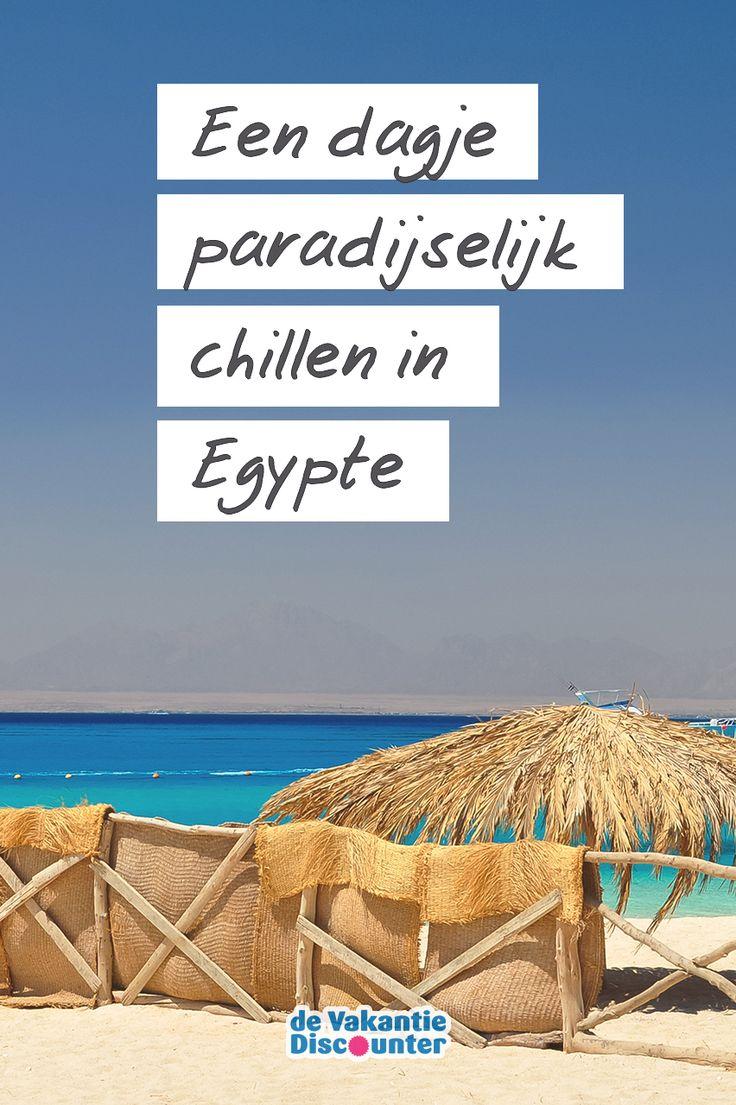 Op zoek naar het paradijs? Als je op vakantie gaat naar Hurghada is het binnen handbereik. Paradise Island, dat haar naam eer doet, ligt op slechts een stukje varen van de populaire Egyptische badplaats. Tijd om te chillen! (of snorkelen, want dat kan er ook goed)
