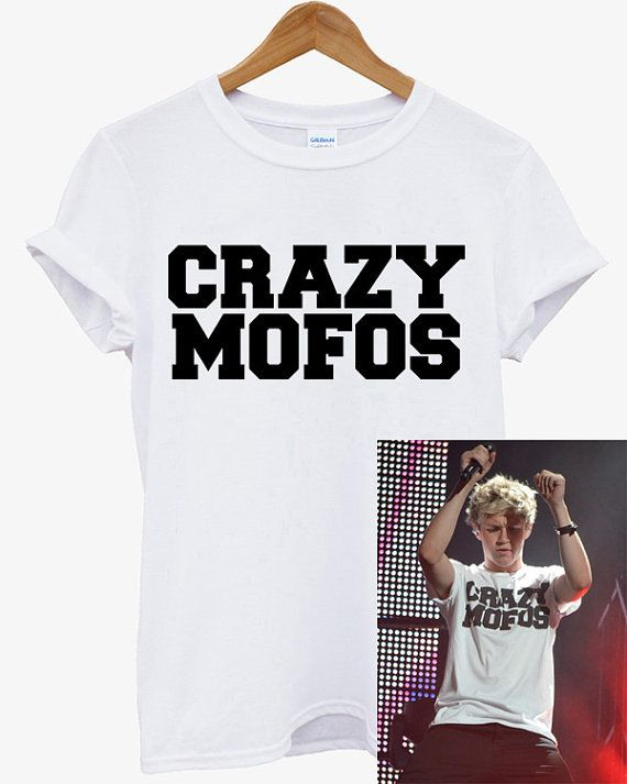 New CRAZY MOFOS Niall Horan One Direction Punk by Antonishop99, $17.99