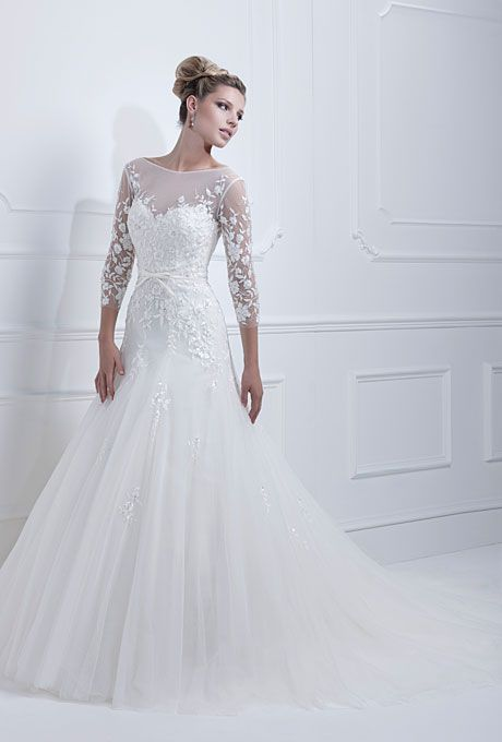 Brides: Wedding Dresses with Long Sleeves from Fall 2013