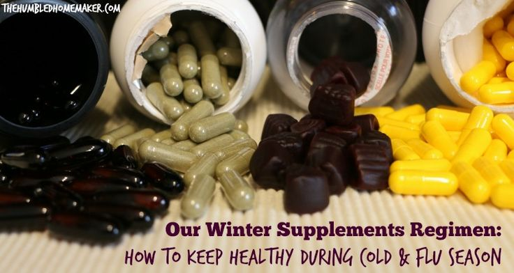 Our Winter Supplements Regimen: How to Keep Healthy During Cold and Flu Season