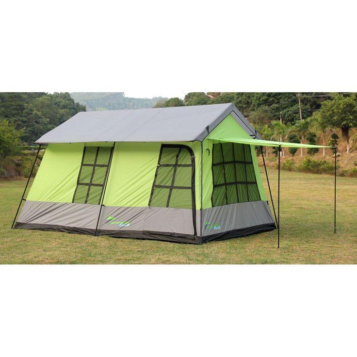 Barraca de camping mansão 10 pessoas Adventure Brasil - ADV-1002 Verde.