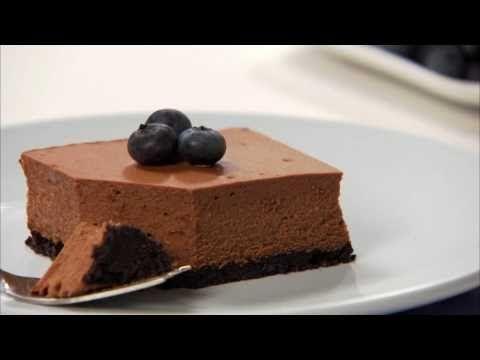 PHILADELPHIA Double-Chocolate Cheesecake - YouTube