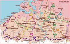 Long Distance Cycling Routes in Belgium - LF Routes