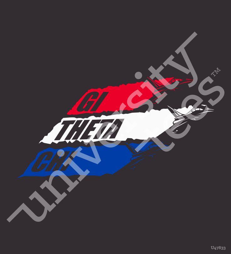 GI Theta Chi I made by University Tees I apparel designs | custom greek apparel | sorority t-shirts | sorority shirt designs I greek t-shirts I sweatshirt designs I sorority designs