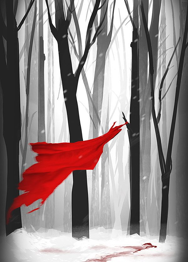 Little Red Riding Hood by Ashmantle.deviantart.com on @deviantART