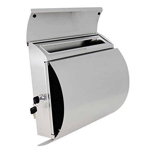 MPB027 New Semi Curve Lockable Mailboxes Stainless Steel Mail Boxes Modern Urban Style - QUALITY IS TOP, ANTI-RUST, STURDY AS REVIEWS FROM CLIENT amoylimai http://www.amazon.com/dp/B00JCFMF1Q/ref=cm_sw_r_pi_dp_yRv.vb08MSE4W