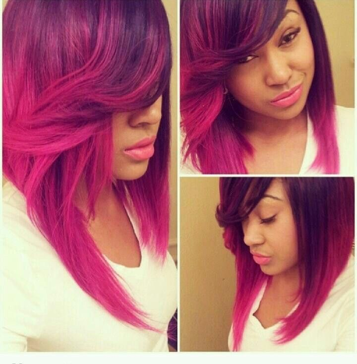 pink hair dye styles 17 best images about chic hair styles on 9576