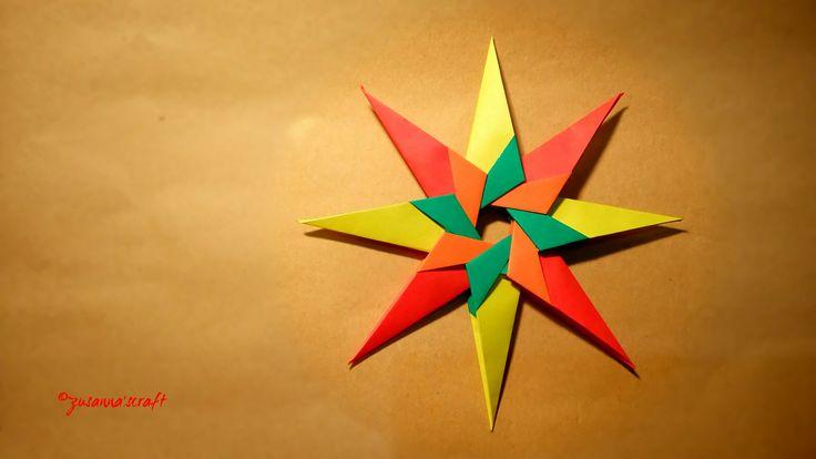 Found Again Hope Star Designed by #AnderyHechuev Folded by #ZusannasCraft Photo by #Zusanna'sphotography