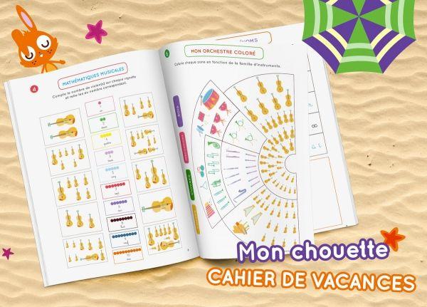 Mon cahier de vacances Montessori de l'été !