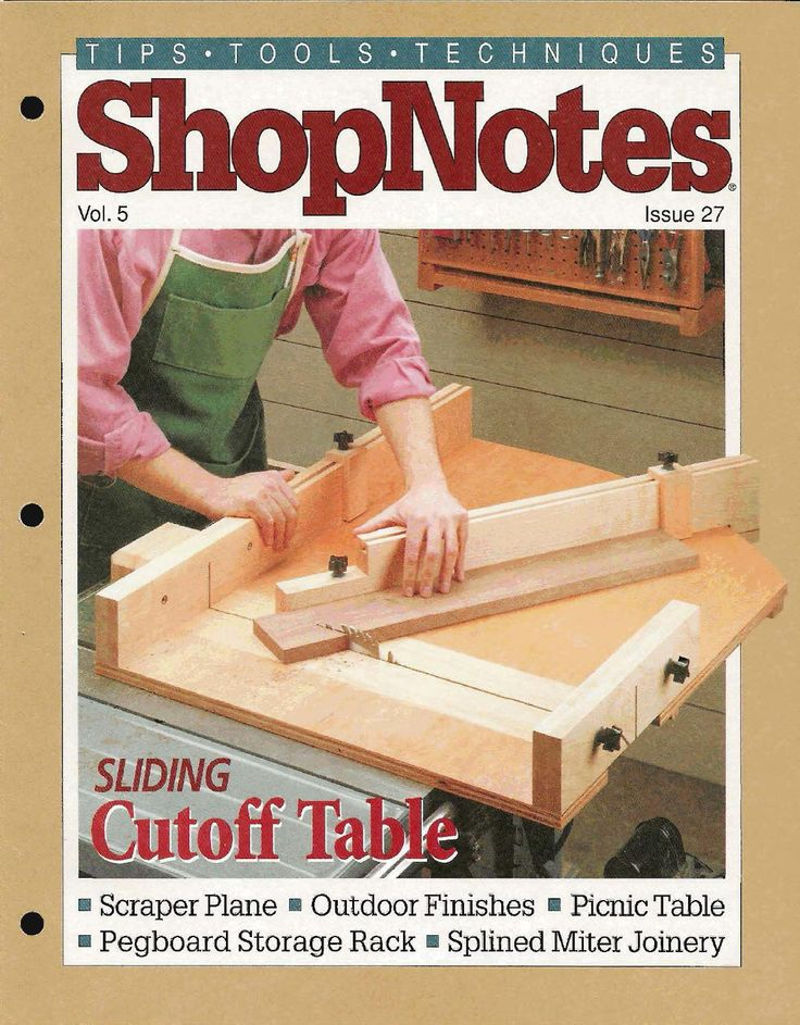Shopnotes issue 27
