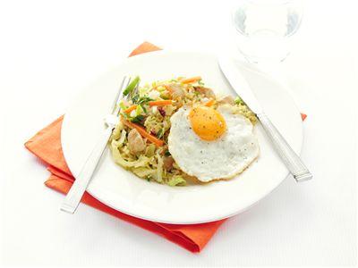 MAGGI > Recept > Nasi goreng met witte kool
