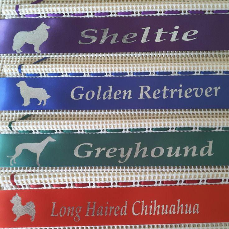 Rosette Holder Images , dog show rosette holder