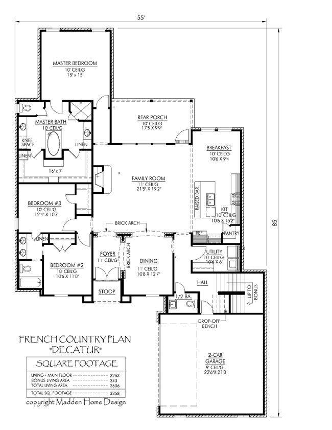 25 best J Swing House Plans images on Pinterest | Dream house ...