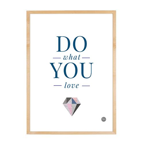 Do What You Love - free printable