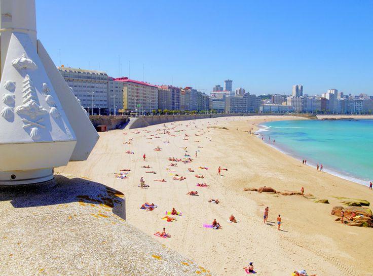 #Playa de Orzan, #ACoruna, #Galicia