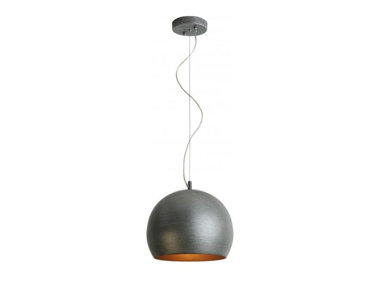 Latitude Pendant  Hand Painted Weathered Pewter  The design of this product highlights a two finishes that provide a contrast and adds a finer detail to the item.