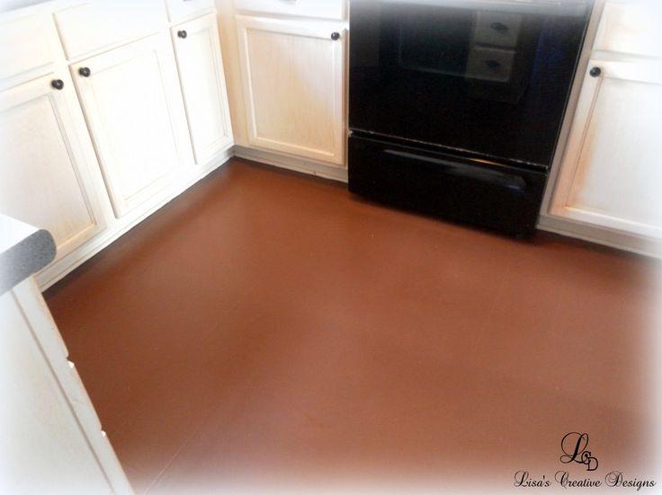 paint an old laminate floor paint laminate floors painted floors floor. Black Bedroom Furniture Sets. Home Design Ideas