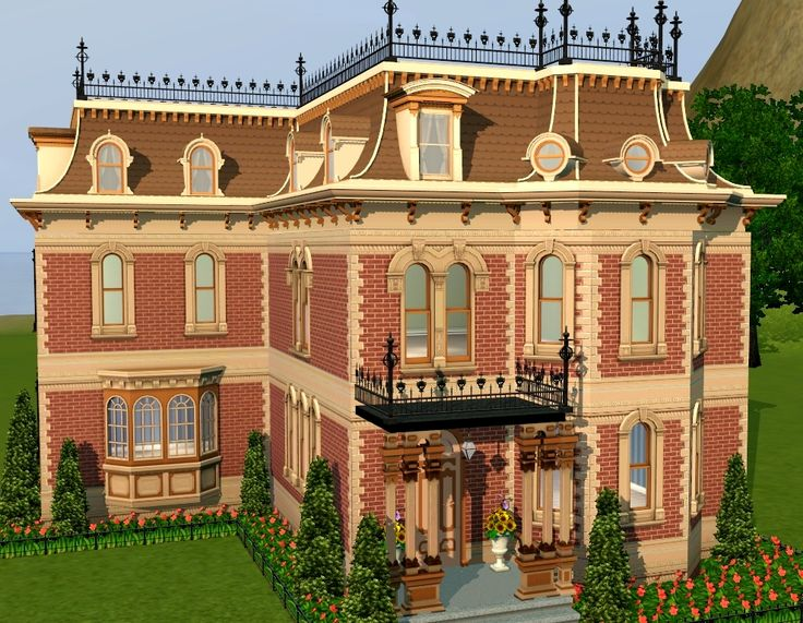 Mod the sims mighty mansard redux store edit more