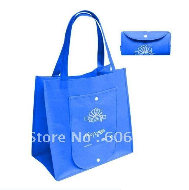 Складывая хозяйственная сумка 80 г нетканые ткани складная сумка